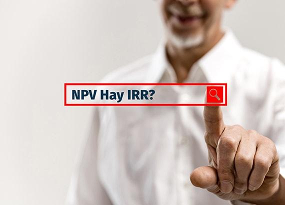 NPV và IRR mâu thuẫn